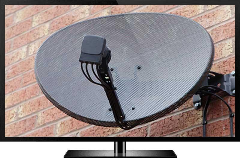 SKY TV Dish